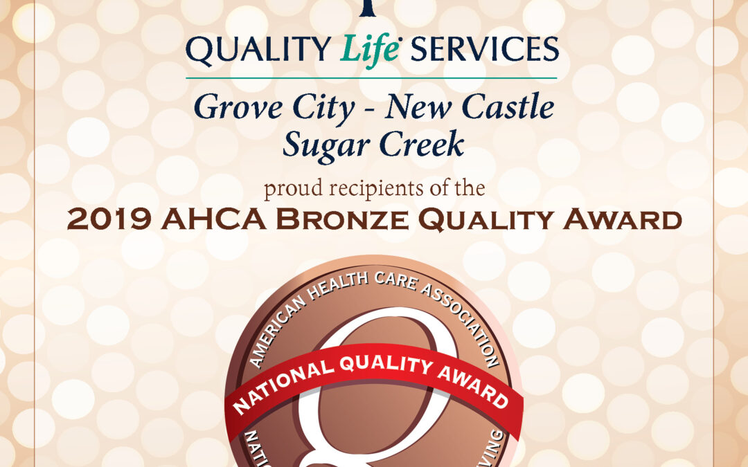 Quality Life Services wins 3 AHCA 2019 Bronze Quality Awards
